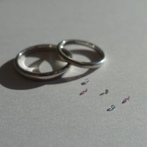 宝石1ピースプレゼント中💎指輪のどこに入れる?