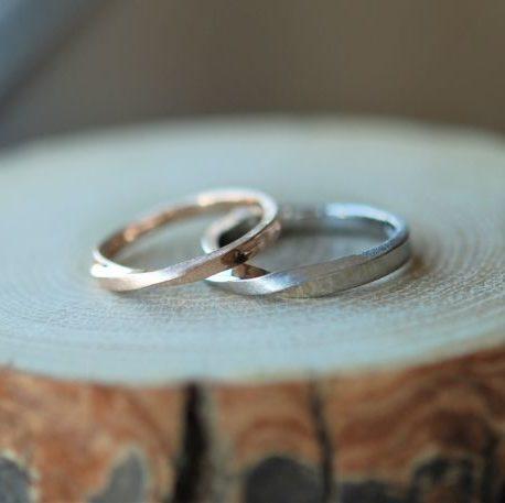 《新潟店》手作り結婚指輪 Y様・M様
