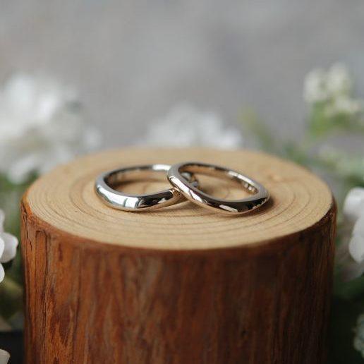 《新潟店》手作り結婚指輪 樹厘様・里佳様
