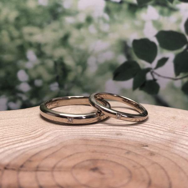 《鎌倉店》手作り結婚指輪 智之様・美咲様