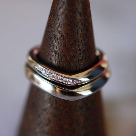 《新潟店》手作り結婚指輪 Y様・S様