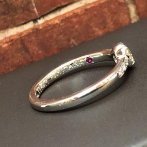 刻印を入れる場所@手作り結婚指輪 工房スミス札幌店