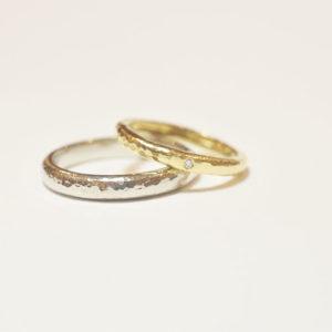 手作りだからこそ「それぞれの好み」を作り上げましょう@手作り結婚指輪 工房スミス札幌店