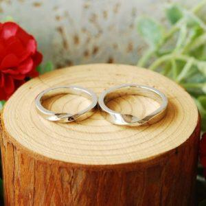 《新潟店》手作り結婚指輪 T様・A様