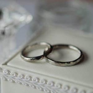 《新潟店》手作り結婚指輪 悠太様・愛里沙様