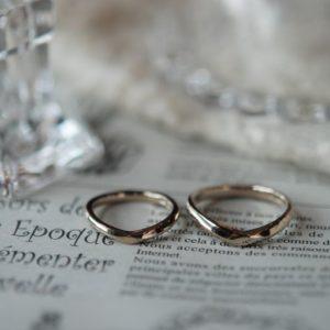 《新潟店》手作り結婚指輪 純煕様・麻由様