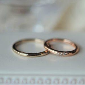 《新潟店》手作り結婚指輪 Y様