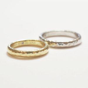お互いの好みを尊重して@手作り結婚指輪 工房スミス札幌店