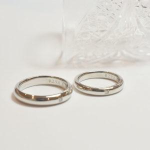 《横浜元町店》手作り結婚指輪 Y様