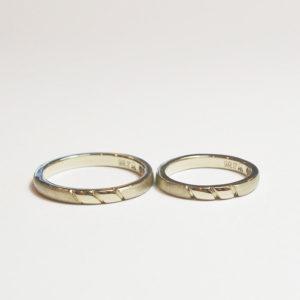 《横浜元町店》手作り結婚指輪 I様